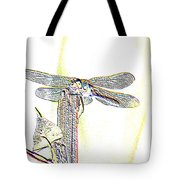 A Dragonfly In My Dreams Tote Bag