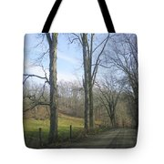 A Drive In The Country Tote Bag