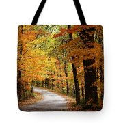 A Drive Through The Woods Tote Bag