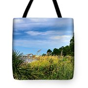 A Drive With A View Tote Bag
