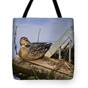 A Duck With Style Tote Bag