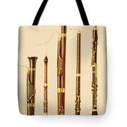 A Dulcian, An Oboe, A Bassoon Tote Bag