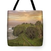 A Dunnottar Castle Sunrise - Scotland - Landscape Tote Bag
