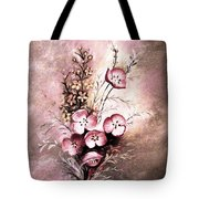 A Dusty Rose Bouquet Tote Bag