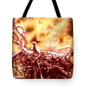A Eaglet In Down Tote Bag