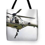 A Eurocopter As332 Super Puma Tote Bag