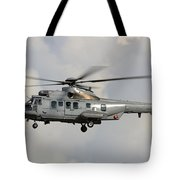 A Eurocopter As532 Cougar Of The Royal Tote Bag