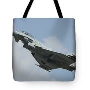 A Eurofighter Typhoon Of The Royal Air Tote Bag