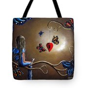 A Fairy's Heart Has Many Secrets Tote Bag by Shawna Erback