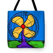 A Fan Of Color Tote Bag