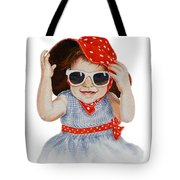A Fashion Girl  Tote Bag