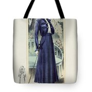 A Fashionable French Lady Tote Bag