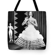 A Fashionable Mannequin And Her Unclothed Version In The Backgro Tote Bag by Underwood Archives