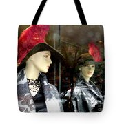 A Feather In Her Hat Tote Bag