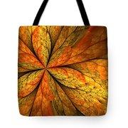 A Feeling Of Autumn Tote Bag