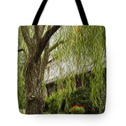 A Few Red Flowers Tote Bag