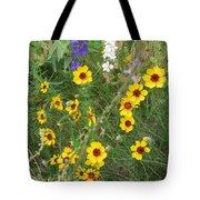 A Field Bouquet Tote Bag