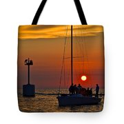 A Fine Days End Tote Bag