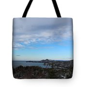 A Fine January Day On The Bay Tote Bag