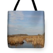 A Fine Place For Ducks Tote Bag