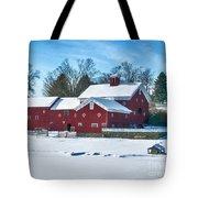A Fine Winter Day Tote Bag