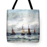 A Fishing Fleet Tote Bag