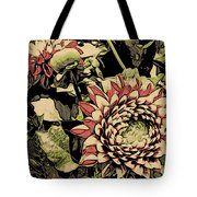 A Floral View Tote Bag