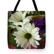 A Flower Basket Tote Bag