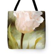 One Beautiful Flower Impressionism Tote Bag