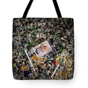 A Flower In The Broken Glass Tote Bag