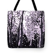 A Forest Silhouette Tote Bag