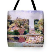 A Formal Garden In Rome Tote Bag