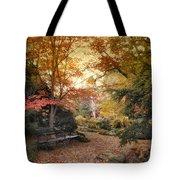 A Formal Garden Tote Bag