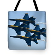 A Formation Of Angels Tote Bag
