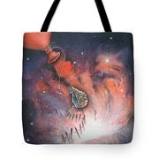 A Fraction Of Action Tote Bag by Krystyna Spink