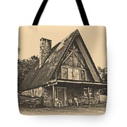 A Frame In Black And White Tote Bag