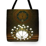 A Franklin Chandelier Tote Bag