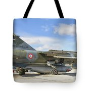 A French Air Force Mirage F1 Tote Bag