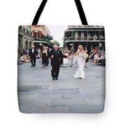 A French Quarter Wedding Tote Bag