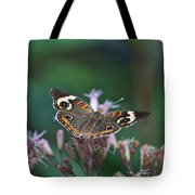 A Friendly Butterfly Smile Tote Bag