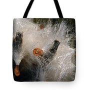 A Froth Of Milkweed Tote Bag
