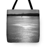 A Frozen Lake Tote Bag