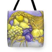 A Fruitful Horn Of Plenty Tote Bag