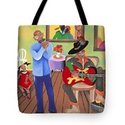 A Funky Kind-a-party Tote Bag