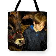 A Future Farmer In The Making Tote Bag
