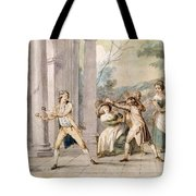 A Game Of Blind Mans Buff, C.late C18th Tote Bag