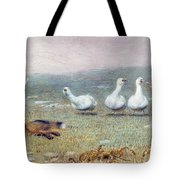 A Game Of Fox And Geese, 1868 Tote Bag