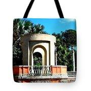 A Garden Balcony At Vizcaya Tote Bag