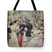 A Garden Party At The Elysee Tote Bag