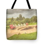 A Gathering Of Friends Tote Bag